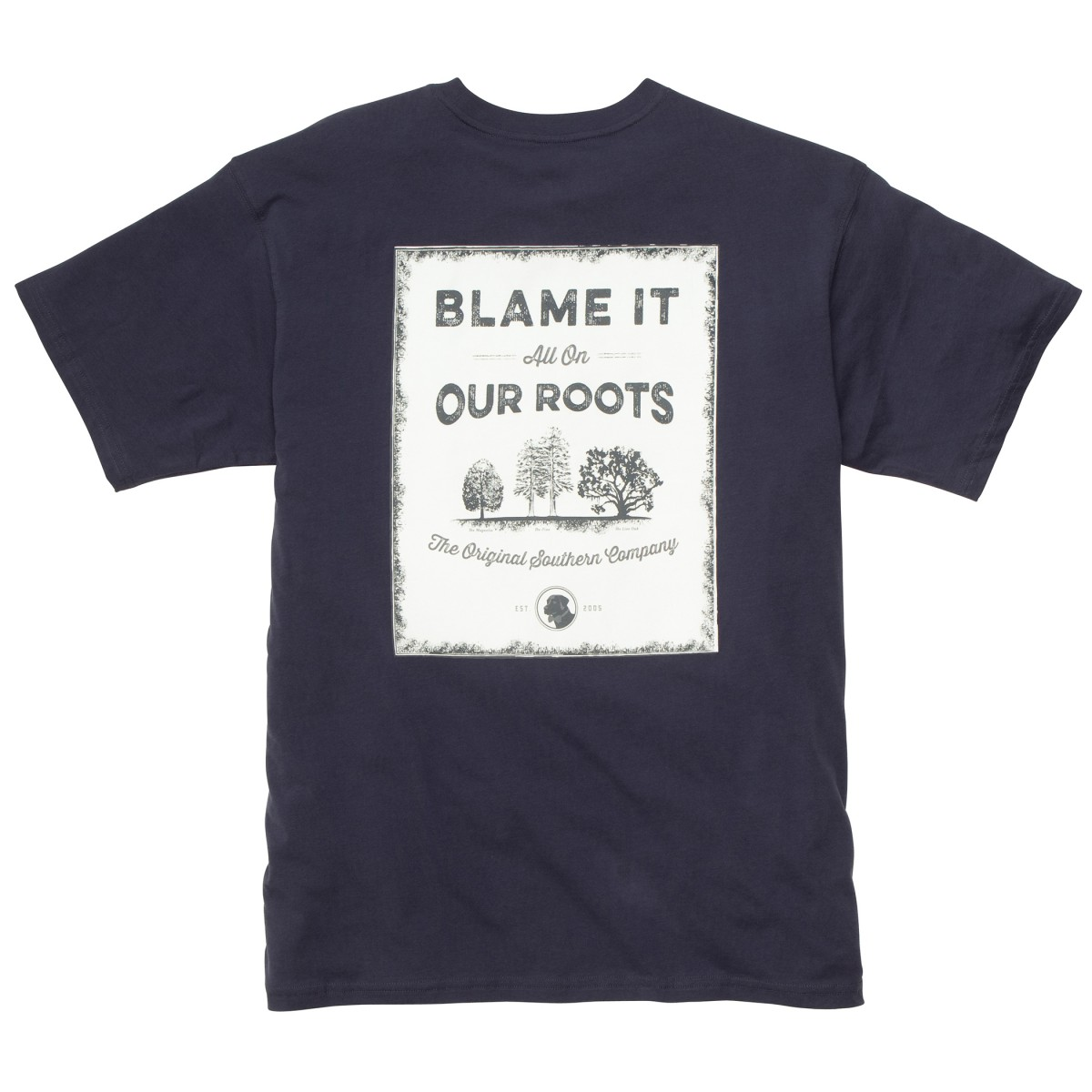 Our Roots: True Navy Short Sleeve